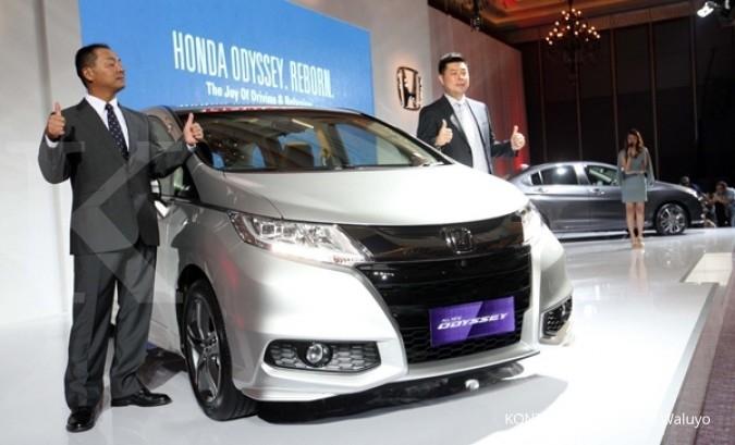Penjualan mobil Honda turun di Februari