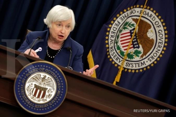 Meski inflasi turun, Fed tetap kerek suku bunga