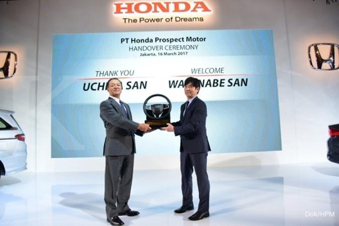 PT Honda Prospect Motor ganti direksi
