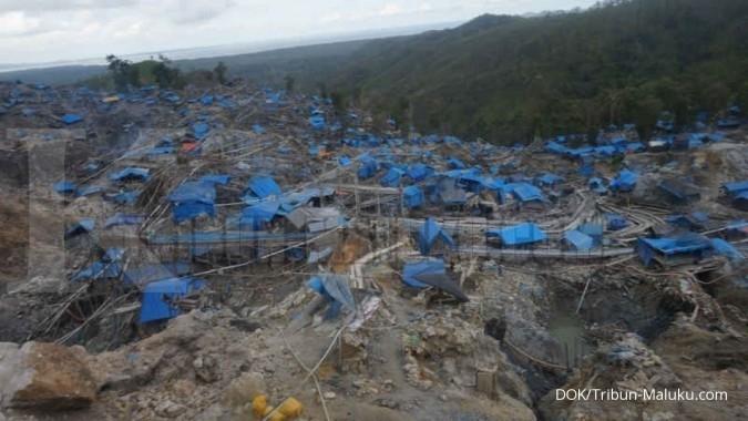 Penambangan emas Gunung Botak ditutup 17 Maret