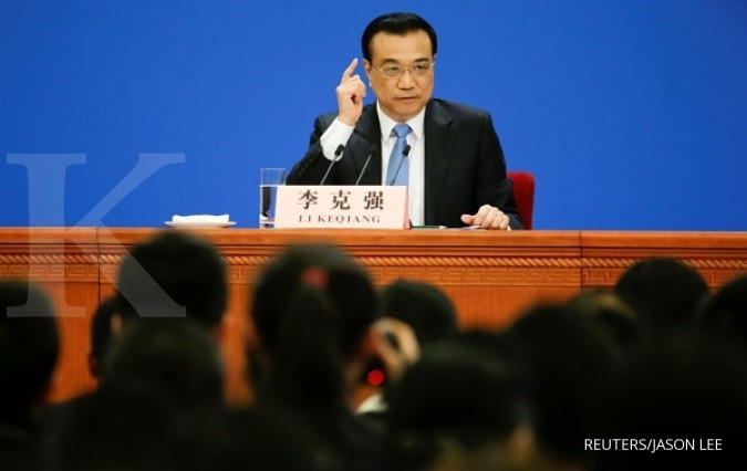 Perdana Menteri China meramal PDB tahun 2017 tumbuh 6,9%