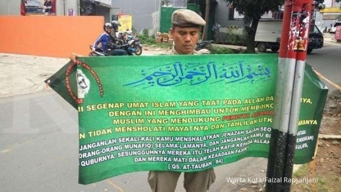 DKI copot ribuan spanduk kampanye & provokatif
