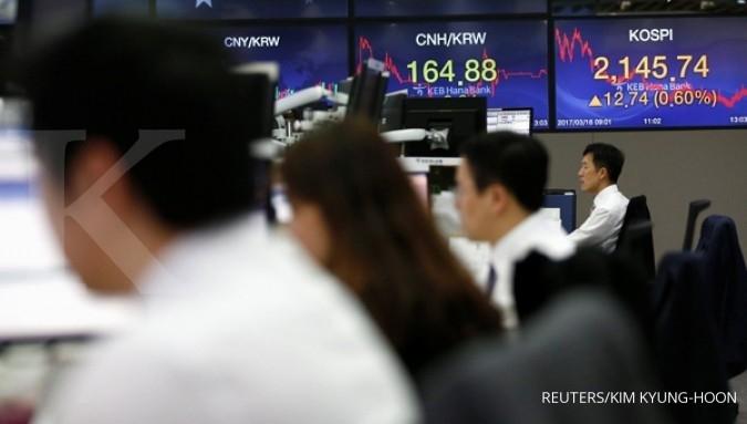 Bursa Asia tergelincir, Kopsi & Nikkei turun 0,4%