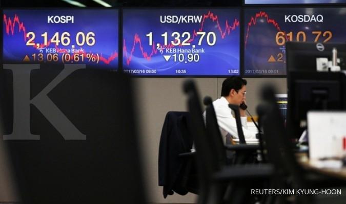 Bursa Asia ditutup mixed fokus voting UU Kesehatan