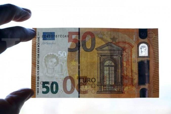 Aksi profit taking, euro melemah terhadap pound