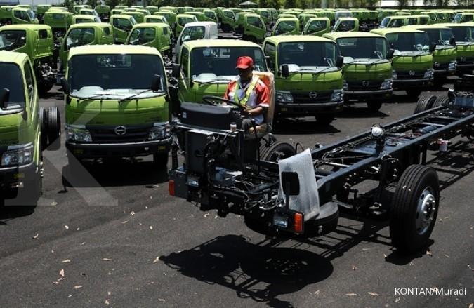 Penjualan truk medium duty Hino melompat 55%