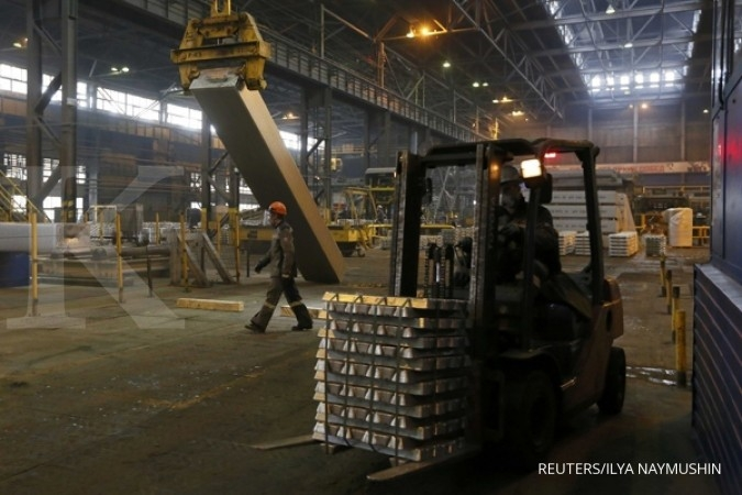 Penutupan proyek smelter China angkat aluminium