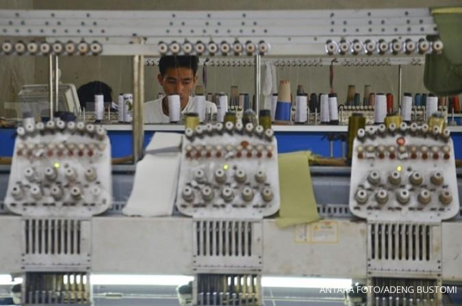 Dua bulan, ekspor tekstil hanya naik 3%