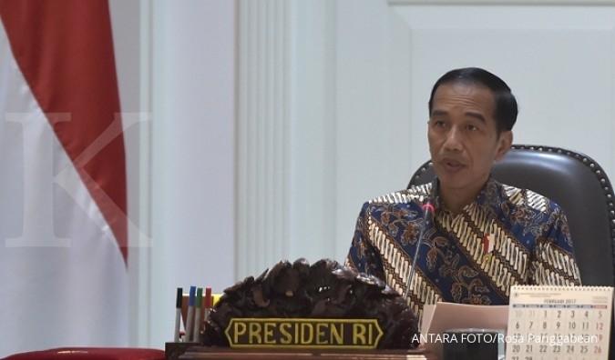 Presiden Jokowi terima para ulama di Istana