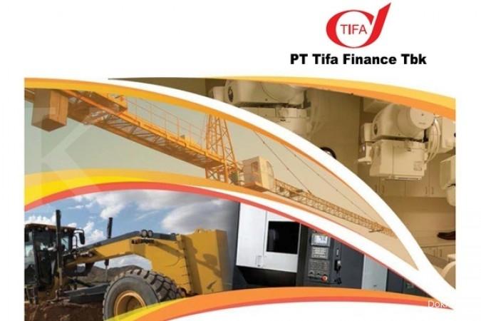 TIFA TIFA mengantongi fasilitas kredit Rp 150 miliar