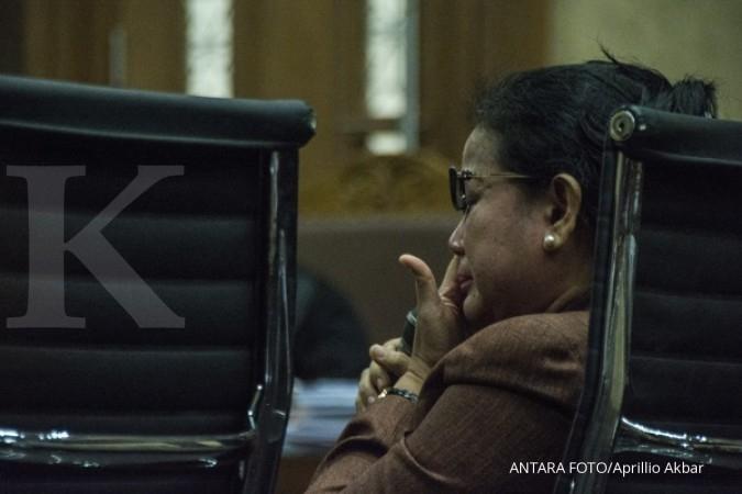 Miryam dan penyidik KPK berhadapan hari ini