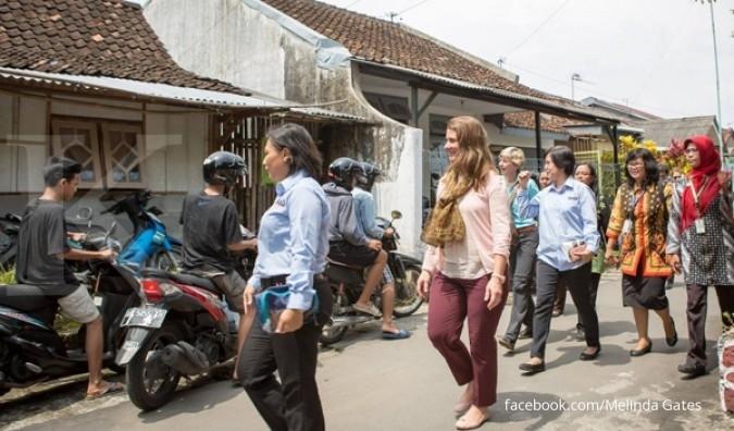 Istri orang terkaya sedunia ketemu Jokowi, ada apa