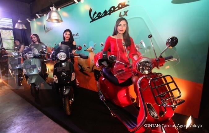 Skuter ikonik, Vespa LX & S i-get resmi mengaspal
