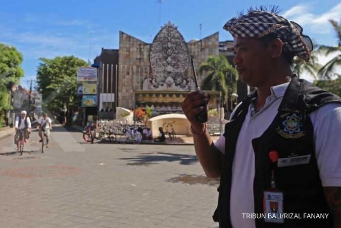 Bali bersolek menyambut pertemuan tahunan IMF
