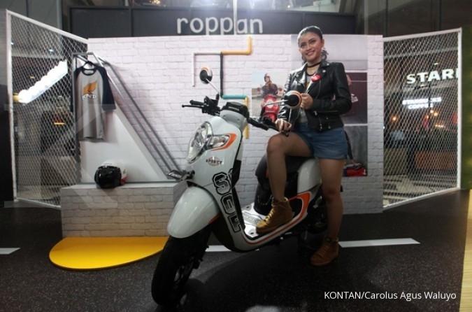 Honda pasarkan wajah baru Scoopy