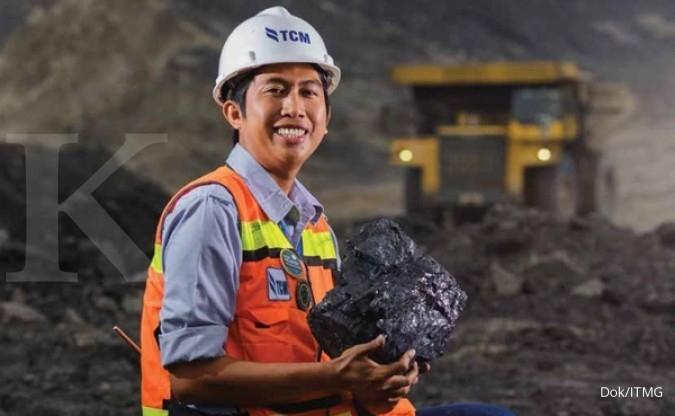 Indo Tambangraya Megah (ITMG) turunkan target produksi batubara di tahun ini