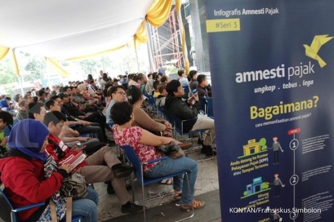 Harta Tax Amnesty mulai Rp 2.000 - Rp 125 triliun