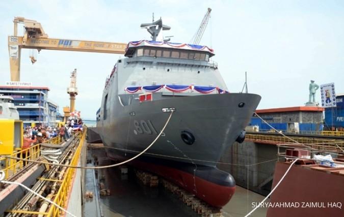 Industri galangan kapal lokal tersengal-sengal