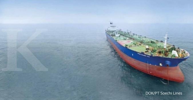 SOCI Emiten pelayaran masih menantang angin kencang