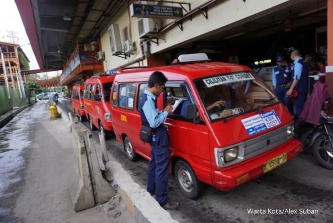Kemhub luncurkan angkot ber-AC di Bekasi