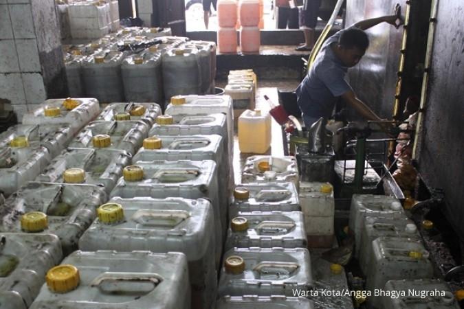 Konsumsi minyak goreng meningkat