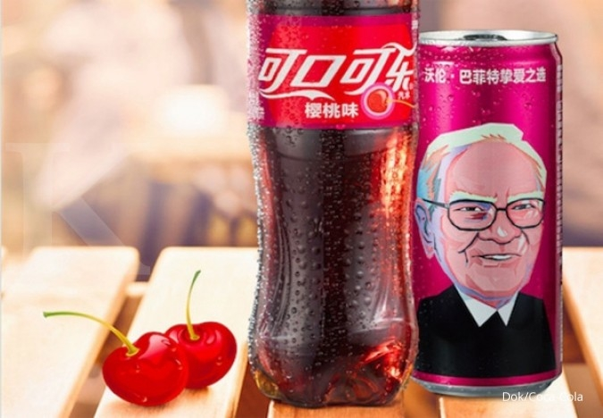 Wajah Buffett hiasi kaleng Coke Cherry di China