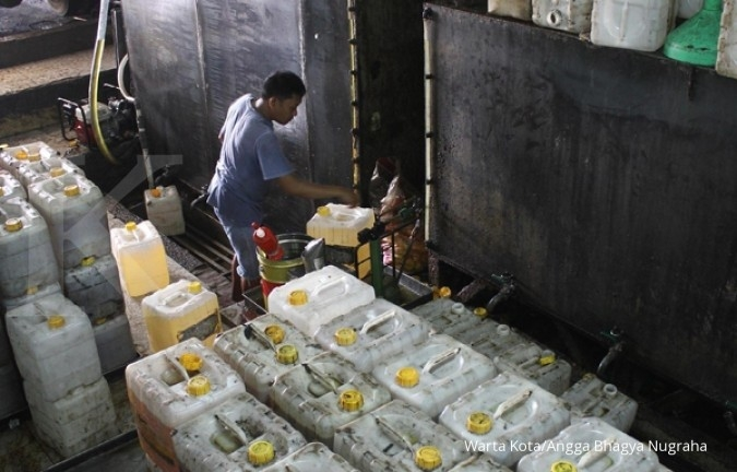 Pemerintah: Distribusi minyak goreng terkendala