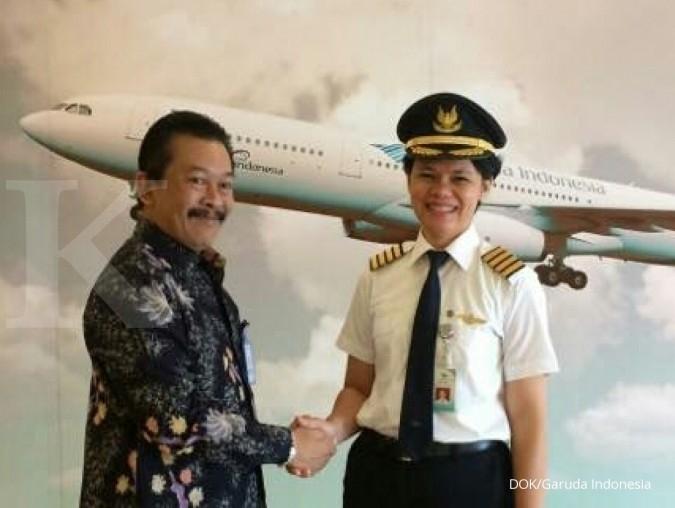 Ida Fiqriah, Captain Pilot wanita pertama Garuda