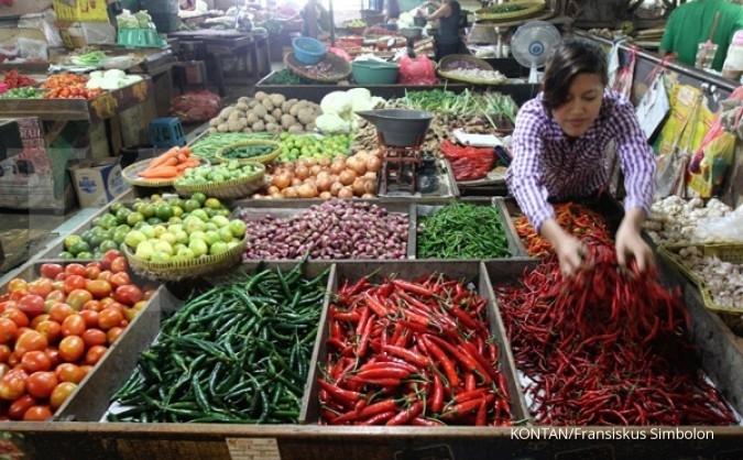 Pemerintah tekan harga pangan jelang Lebaran