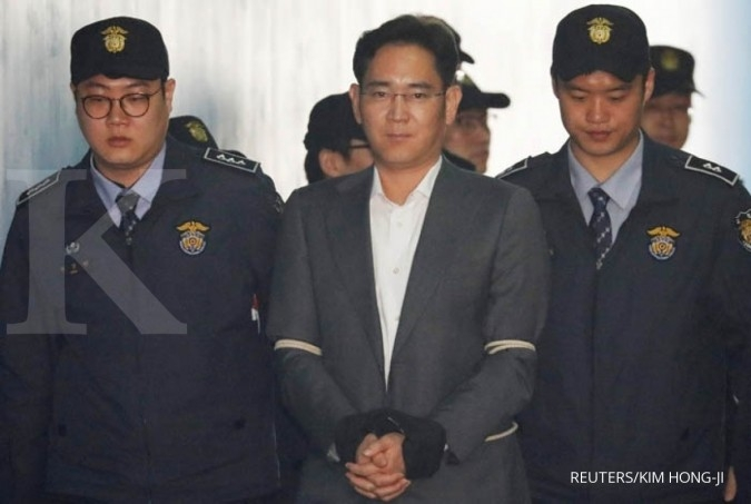 Kasus suap, bos Samsung dihukum 5 tahun penjara