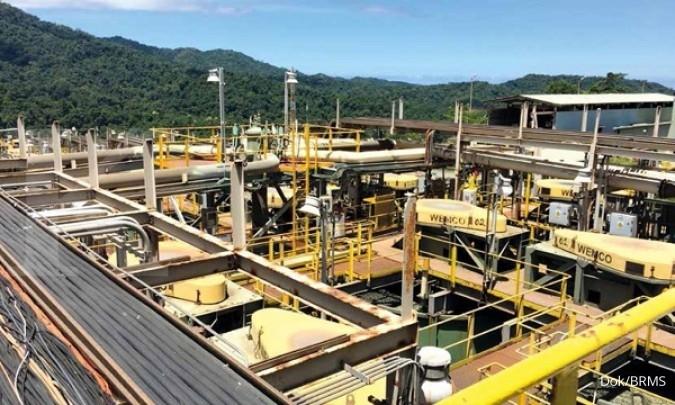 BUMI BRMS Pendapatan Bumi Resources Minerals (BRMS) akan ditopang penjualan emas mulai 2020