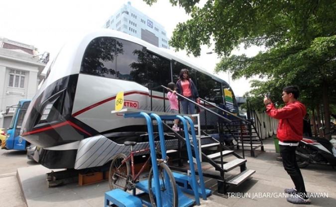 Tarif metro kapsul paling mentok Rp 10.000