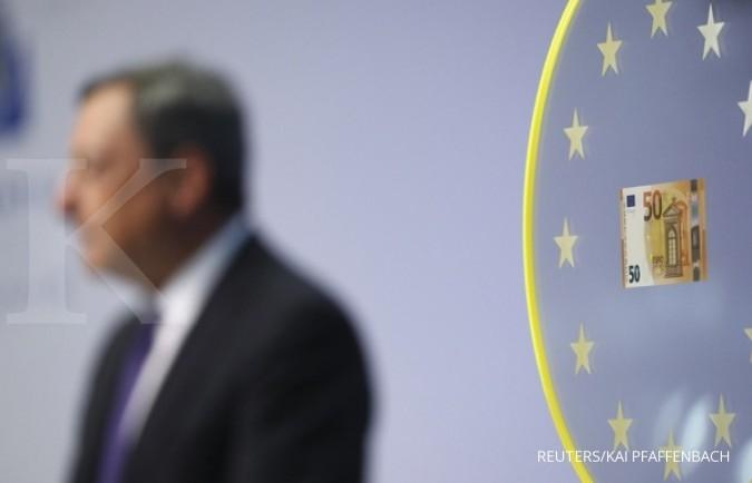 Euro salip tipis yen Jepang