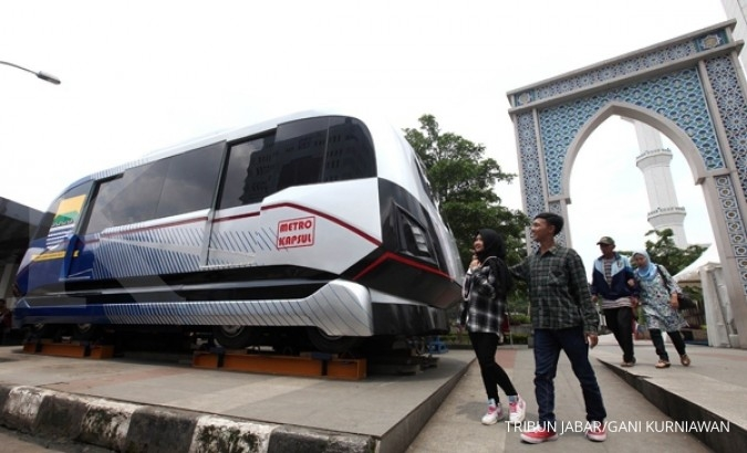 Bulan depan PTPP mulai bangun LRT Metro Kapsul