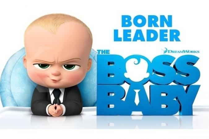 Smurf tak mampu kalahkan The Boss Baby