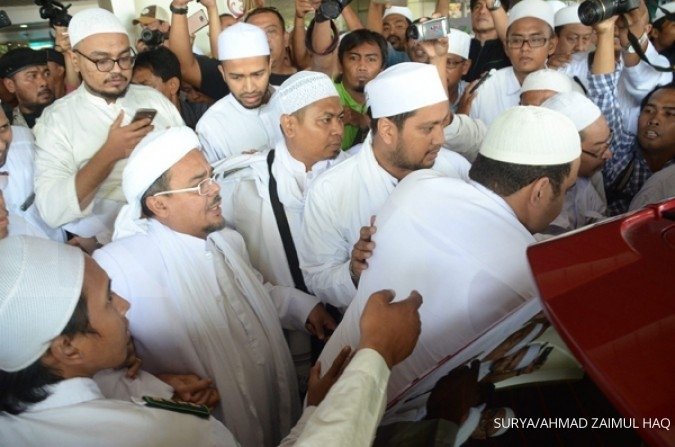 Polri tanggapi surat Rizieq Shihab ke presiden