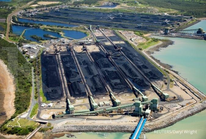 Harga batubara turun dalam lima pekan beruntun