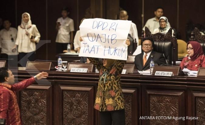 PTUN tolak permohonan pembatalan sumpah DPD