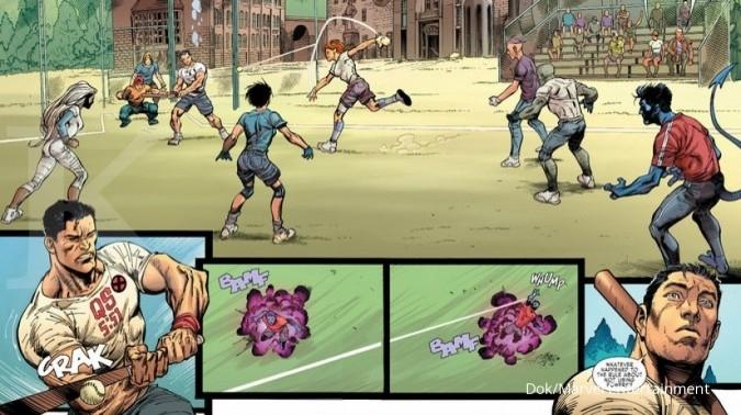 Marvel hapus 212 dan Al Maida dari X-Men Gold