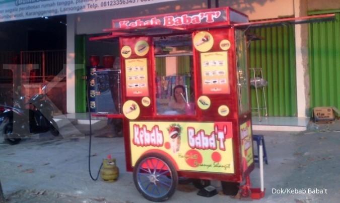 Menyantap gurih kemitraan Kebab Baba't