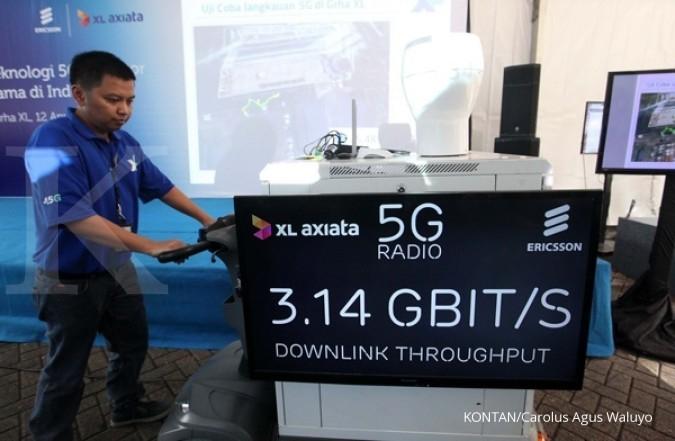 EXCL–Ericsson ujicoba teknologi 5G