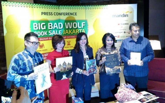 Berburu buku di Big Bad Wolf mulai pekan depan