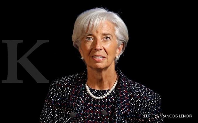 Bos IMF Lagarde memuji sepak terjang Sri Mulyani