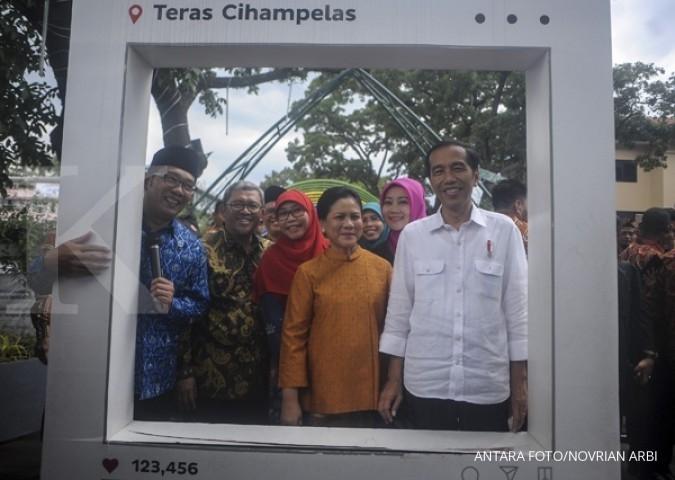 Kunker ke Bandung, Jokowi datangi Teras Cihampelas
