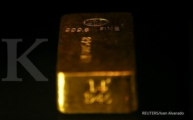Harga emas melanjutkan pendakian