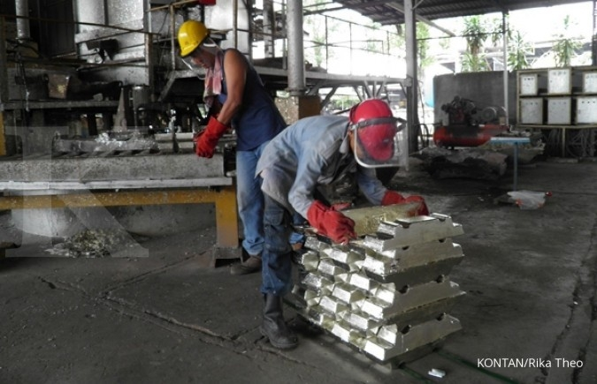 Smelter Anyar PT Timah (TINS) Bakal Beroperasi Bulan Ini