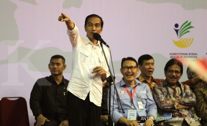 Jokowi's blusukan visits translated in digital map