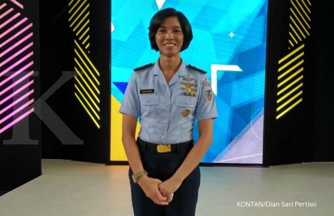 Fariana, pilot perempuan pertama di Indonesia