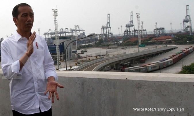 Jokowi denies rumor on reshuffle