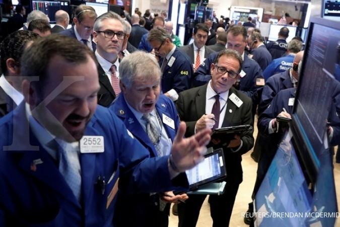 Pemilu Prancis angkat Bursa AS lebih dari 1%